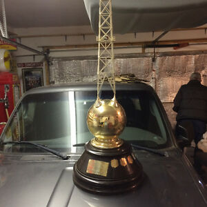 B-A trophy at auction sale - Oct 8