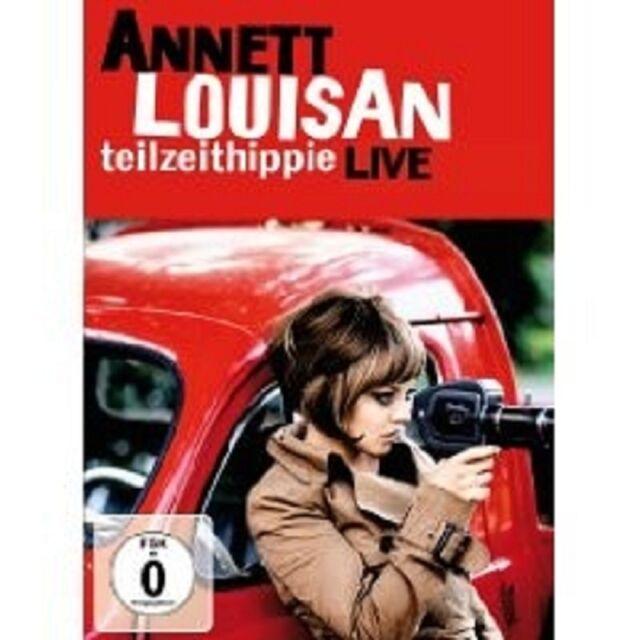 """ANNETT LOUISAN """"TEILZEITHIPPIE LIVE"""" DVD NEU"""