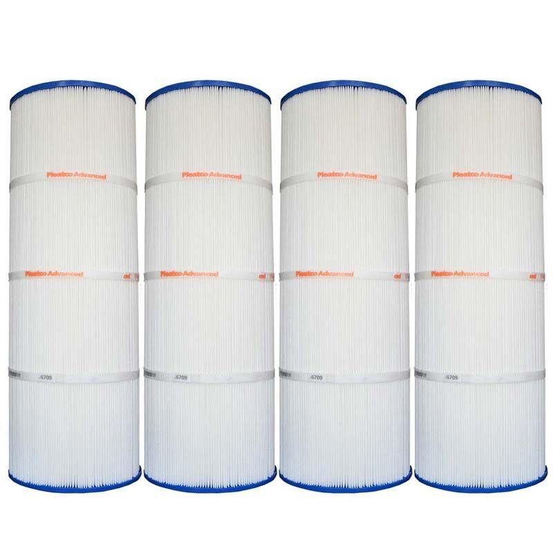 4 Pack Pleatco PCC80 Filter Cartridge Pentair Clean & Clear 320 R173573 C-7470
