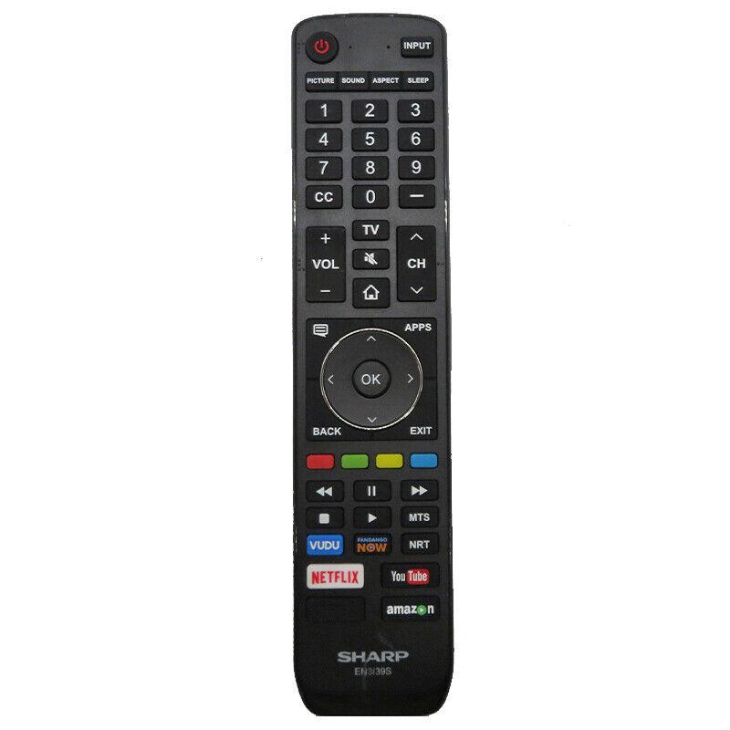 Original Sharp Tv Remote Control En3139s For Lc-43p7000u Lc-55p7000u Lc-65p8000u