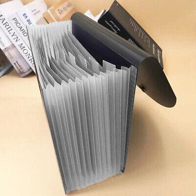 13 Fächer Documents Wallet Fächermappe Expanding Dateiordner Organizer