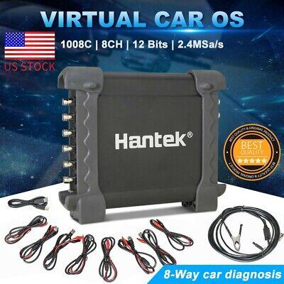 Hantek 1008c 8ch Pc Usb Digital Automotive Diagnostic Oscilloscope Daq Us Plug