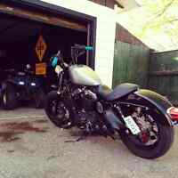 2010 Harley sportster forty-eight