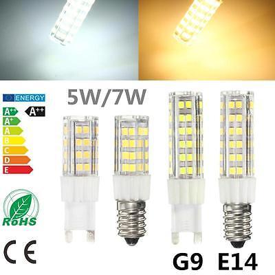 5/7W Dimmable G9 E14 LED Light Bulb for Kitchen Range Hood Chimmey Cooker Fridge