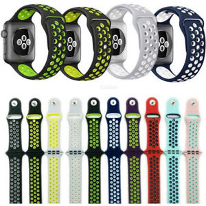 17 colours Apple Watch Silicone Nike+ Bands for series 4 3 2 1