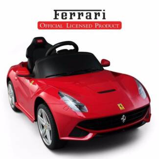 Licensed Ferrari F12 Berlinetta 12V Kids Ride On Car w RC/MP3 RED