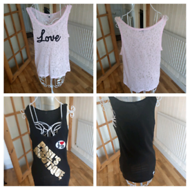 7 t-shirts all size extra large Dorothy Perkins Paul's Boutique for sale  Cambridge, Cambridgeshire