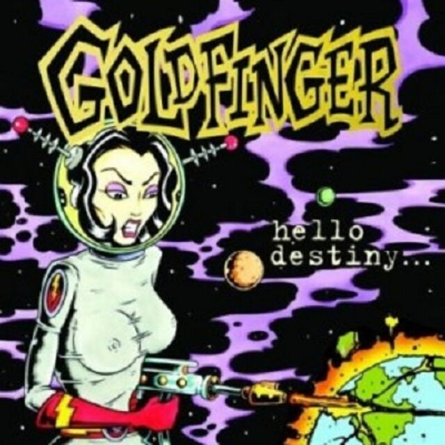 Goldfinger - Hello Destiny  CD  11 Tracks Alternative Pop  Neuware