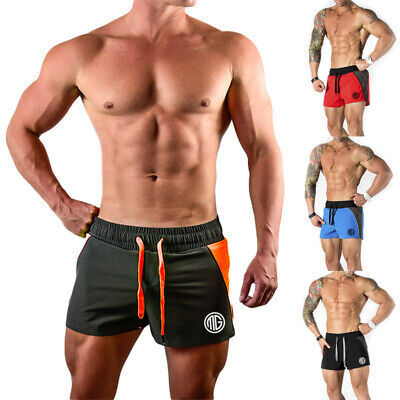 Männer Casual Short Pants Gym Fitness Jogging Laufen Sportswear Shorts Hosen