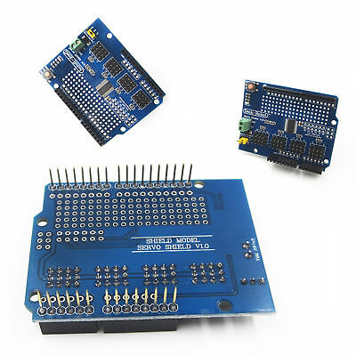 16 Channel 12-bit Pwm Servo Drive Shield Board -i2c Pca9685 For Arduino