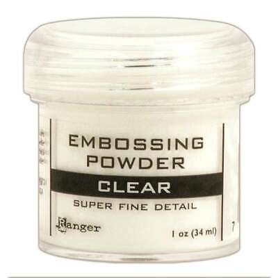 Embossing Powder Super Fine Clear 789541037385