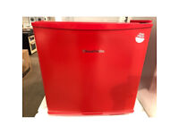 Russell Hobbs RHTTLF1R Table Top Larder Fridge - Red
