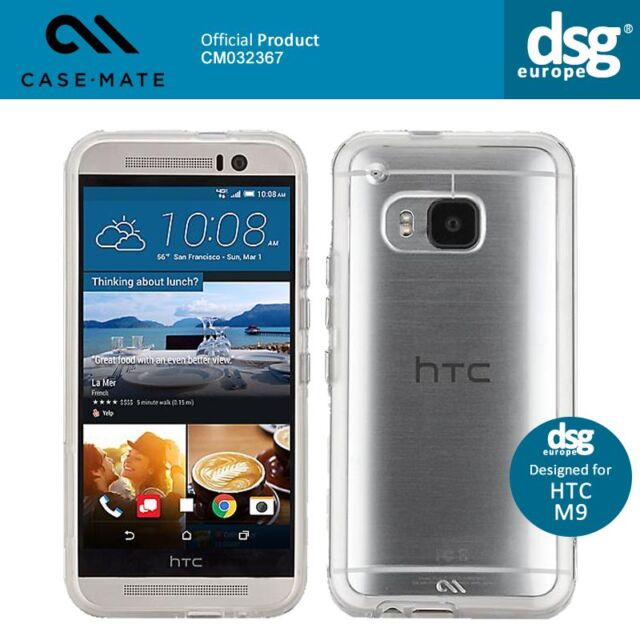 Case Mate Naked Tough Ultra Thing Clear Protective Case Cover HTC One M9