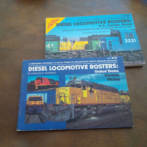 3 Diesel Locomotive Books