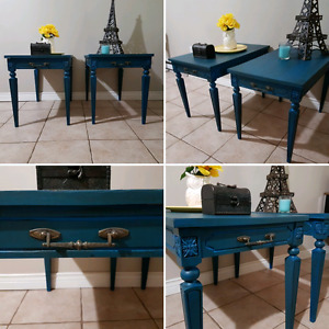Beautiful Matching End Tables