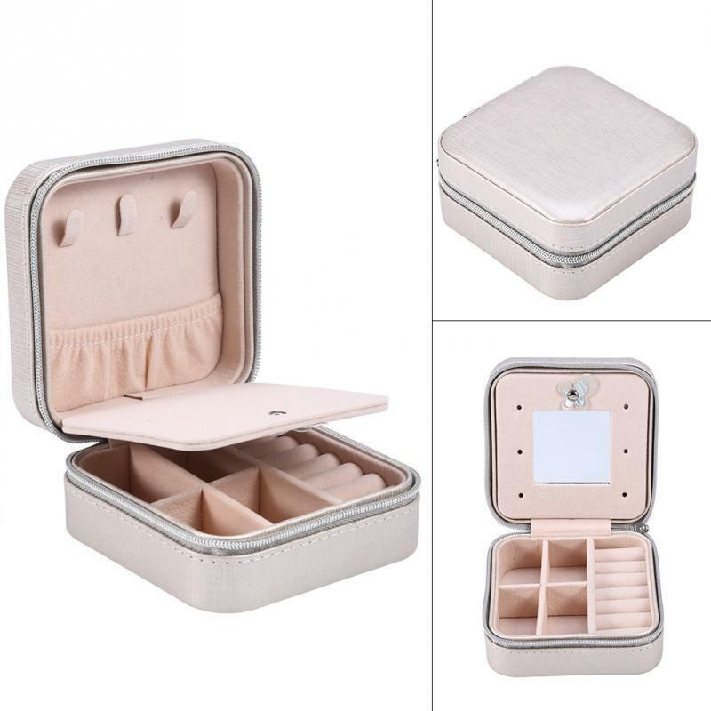 Jewelry Boxes Portable Designed Mini Casket Travel Storage Case Organizer Jewelry & Watches