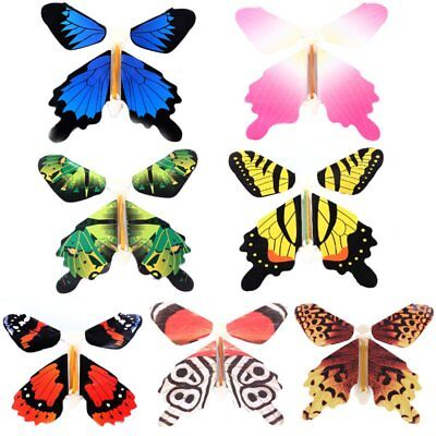 7Pcs/set Magic Flying Butterfly Change From Empty Hands Tricks Prop Toy Game - Toy Props