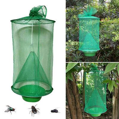 Handmade Hanging Flytrap Cage Zapper Net Fly Catcher Killer Nontoxic Supplies