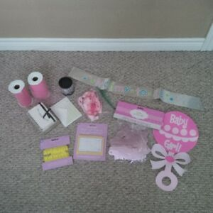 Baby Girl Shower Supplies