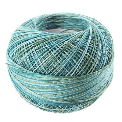 Lizbeth Egyptian Cotton Crochet Thread Size 10 Color 164 Blue River Glades