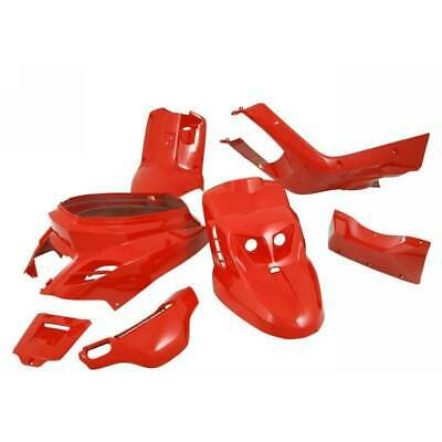 Set Fairings STR8 5 Pcs Bws Red Yamaha 50 BW'S Naked 2004-2004