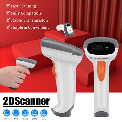 Usb Handheld 2d Laser Barcode Scanner Bar Code Reader For Pos 2 3