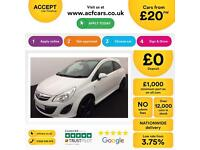 Vauxhall/Opel Corsa 1.2i Limited Edition FROM £20 PER WEEK!