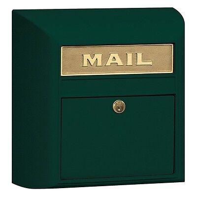 Mailbox Green Eagle Door - Salsbury Modern Mailbox - Eagle Door - Green 4150E-GRN MAILER 14.5