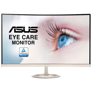 """BRAND NEW Asus VZ27VQ 27"""" Curved 1080p 5ms LED Monitor ON SALE!"""