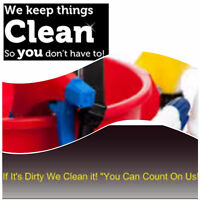 WE CLEAN IT ALL FOR YOU!
