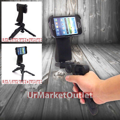 Used, Universal Portable Handheld Tripod phone Adapter Fit Samsung Galaxy S Duos S7562 for sale  Shipping to India