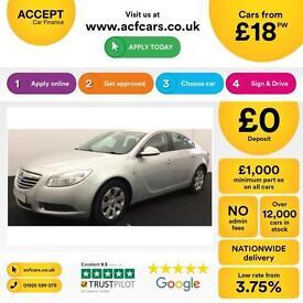 Vauxhall/Opel Insignia 1.8i 16v VVT ( Nav ) 2010MY SE FROM £18 PER WEEK