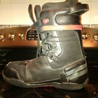 Size 11 mens snowboarding boots - 51/50 brand