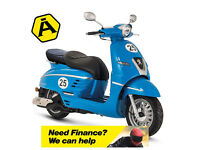 PEUGEOT DJANGO SPORT 50 2T - SPORTS SCOOTER - LEARNER LEGAL - TWIST & GO