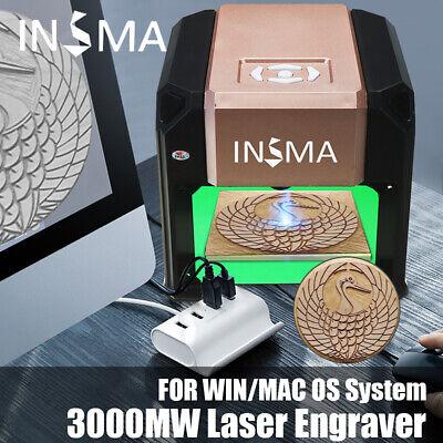 3000mw Usb Cnc Laser Engraving Cutting Machine Portable Mini Engraver Printer