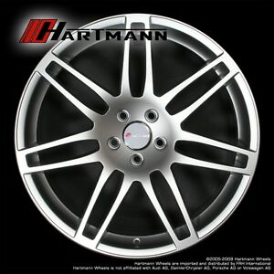 Hartmann HRS4 18 inch Audi alloy wheels