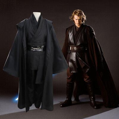 be Obi-Wan Kenobi Jedi Cloak Herren Kostüm Karneval Outfit (Star Wars Kostüm)