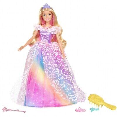 Barbie Dreamtopia Royal Ball Princess Doll with Wand and Tiara
