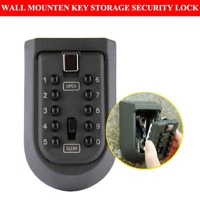 10 Digit Safety Home Durable Key Storage Box Money Key Hider Digit Security Lock