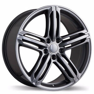 Audi Winter Wheels with mounted winter Tires