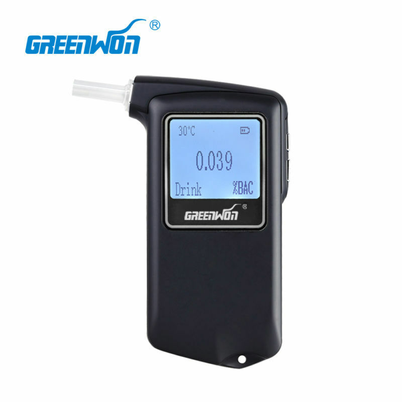 Model 868F Fuel Fell Sensor Blood Acohol Tester With LCD Breathalyzers