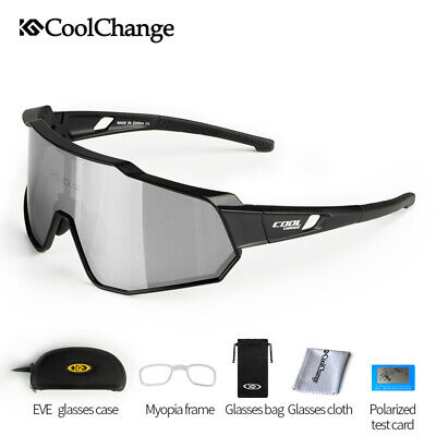 Polarized Sports Sunglasses MTB Cycling Driving Running Glasses Eyewear (Running Goggles)