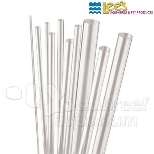 """36"""" Clear PVC Thin-Wall Rigid Aquarium/Pond Tubes 3"""