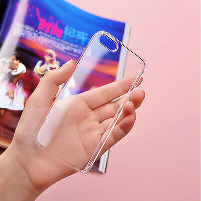 New Ultra Thin Plastic Clear Transparent Hard Back Case Cover For iPhone 6