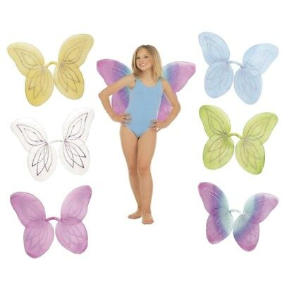 LÜGEL Flügel für Kostüm Elfe Fee Schmetterling  AUSWAHL (Feenflügel Kind)