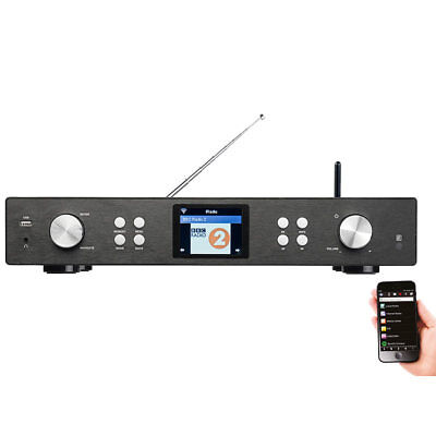 VR-Radio Digitaler WLAN-HiFi-Tuner mit Internetradio, DAB+, UKW, MP3, Streaming Internet-radio