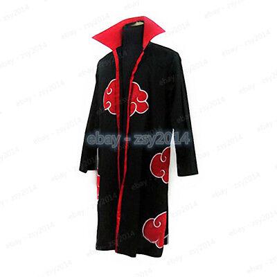 Naruto Akatsuki Cloak Anime Cosplay Costume Robe Adult Child Size Unisex](Naruto Baby Costume)