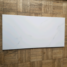 18 large white with grey fleck pattern ceramic wall tiles
