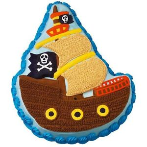 Wilton Cake Pan - Pirate Ship