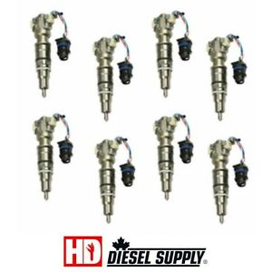 6.0L Powerstroke remanufactured injector set HD DIESEL SUPPLY